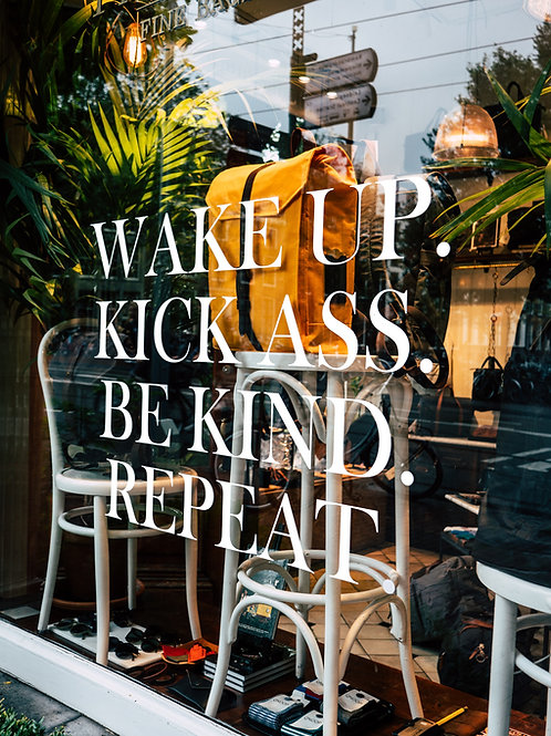 Wake Up & Kick A** Pkg. - 20 hrs.