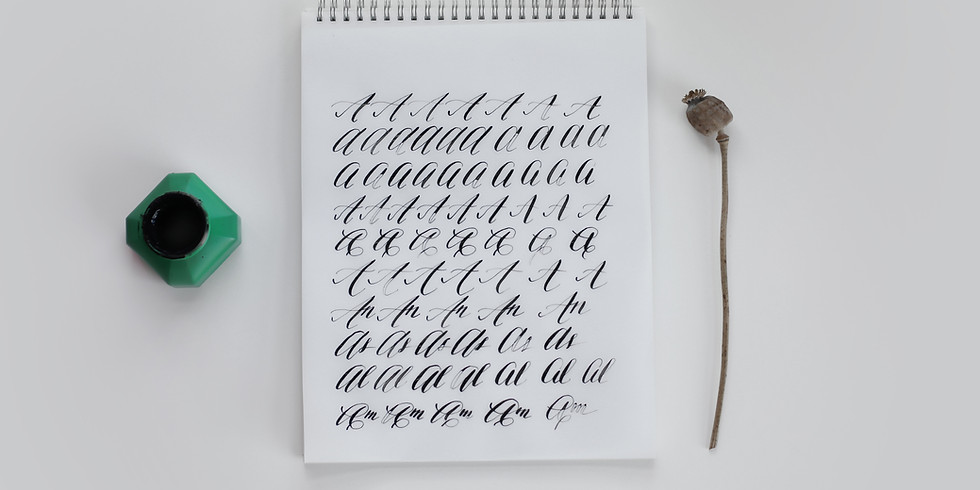 Introduction to Calligraphy (SOLD OUT)