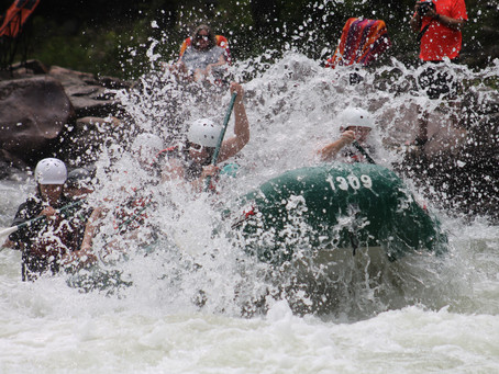 White Water Rafting With My Son — And Almost Not Coming Back