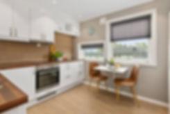 Smart kitchen background