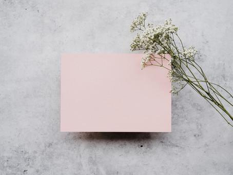Dusty Rose Wedding Palette