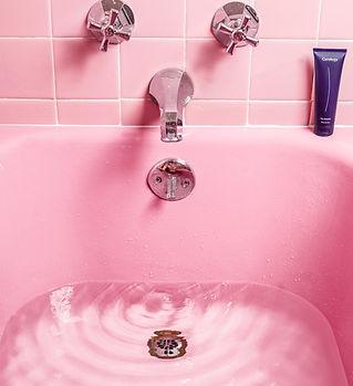 Pink Bath Tub by Curology