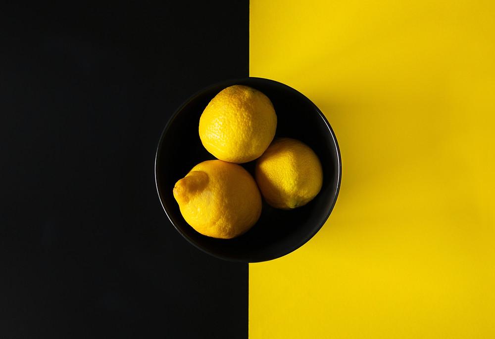 Lemons contain Citral terpene isolate
