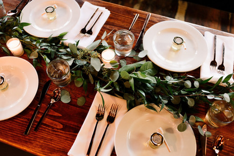 Beautiful table scape
