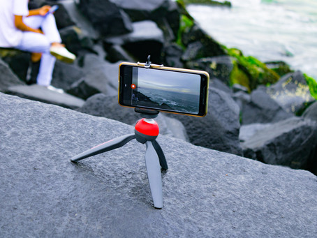 Tips for recording yourself with a smartphone