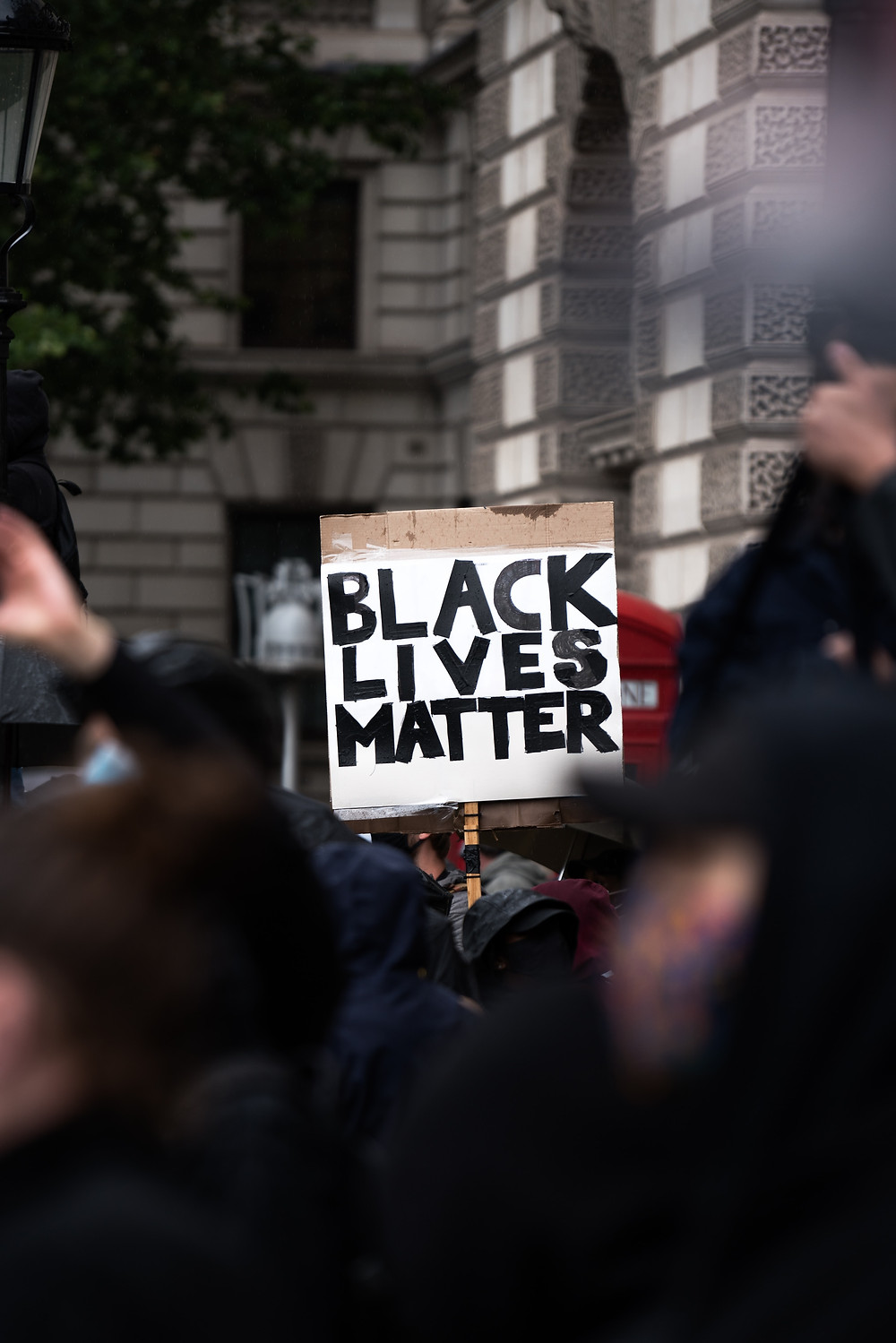 Protest Sign: Black Lives Matter