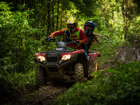 The Weather is Just Perfect for a Day on the ATV