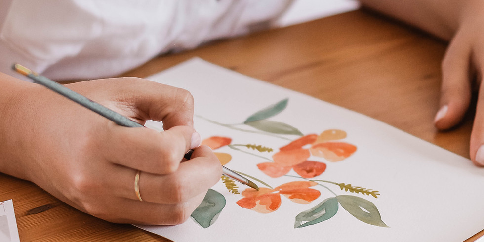 Floral Watercolour Painting Workshop