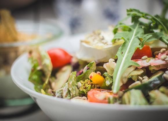 Saisonaler Blattsalat
