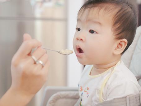 Los primeros alimentos del bebé ¿por donde empezar?