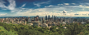 stunning view of downtown Montreal with the St. Lawrence River in the background. Plan my trip with this Montreal Key to the City