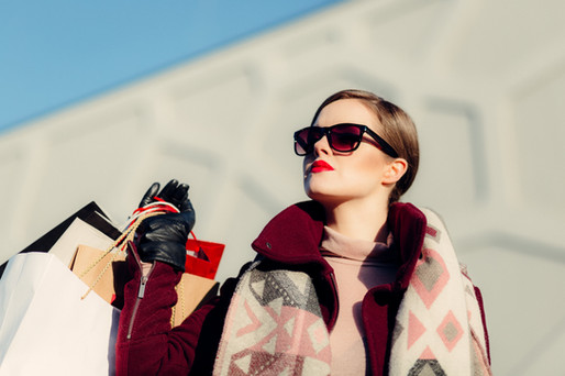 Luxury shopping in Mayfair London