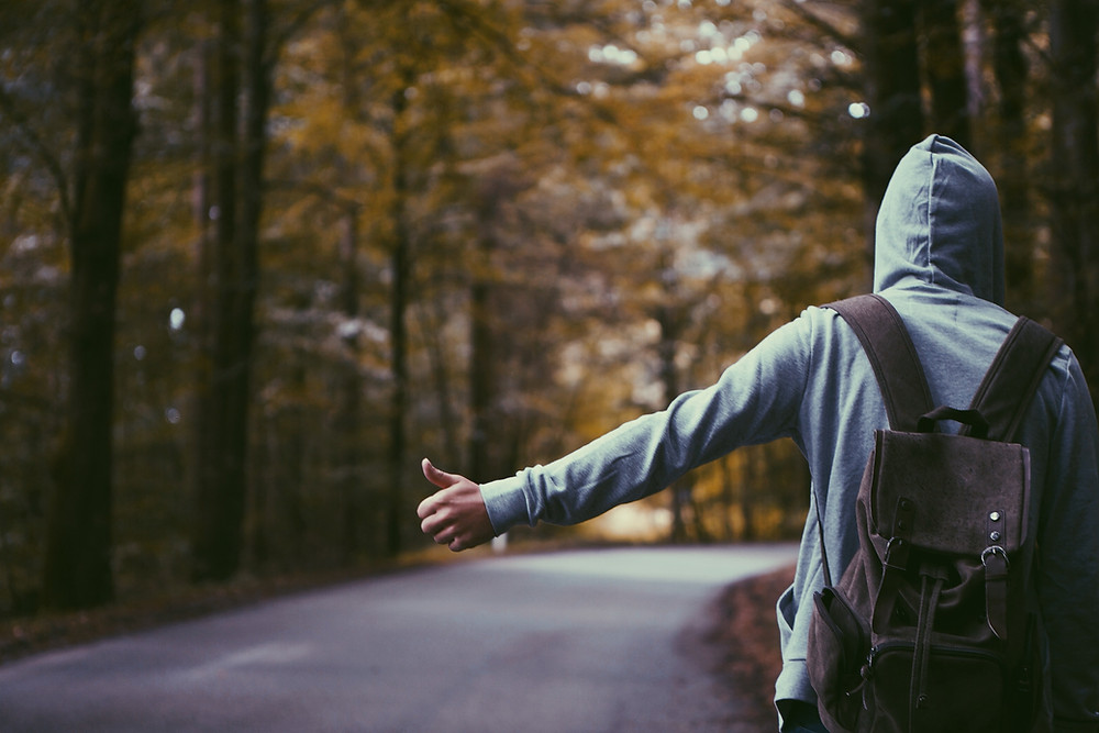 Hitch Hiking Image