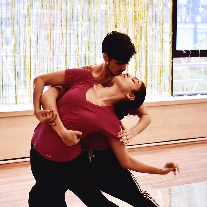 AT HOME 5-7pm Dance Party w/Bolero Workshop