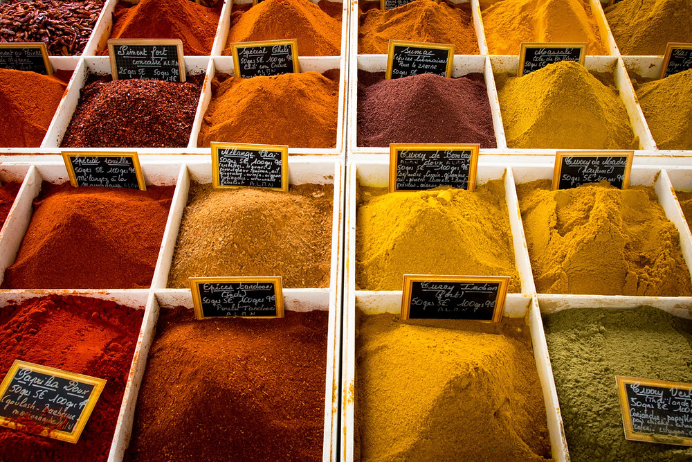 Eugenol terpenes found in spices