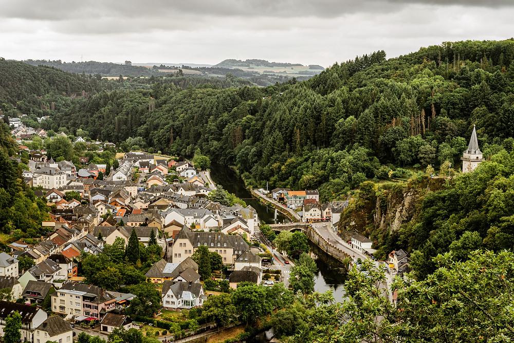 Vista panorámica Luxemburgo