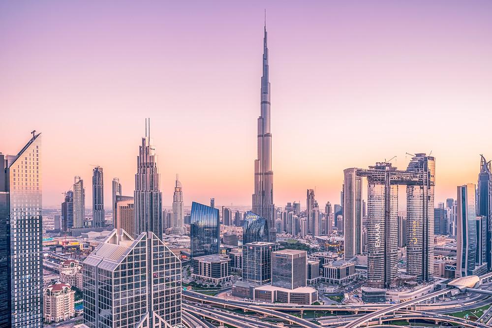 Dubai City United Arab Emerites