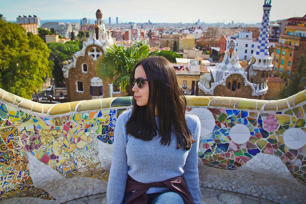 פארק גואל , גאודי בברצלונה ספרד