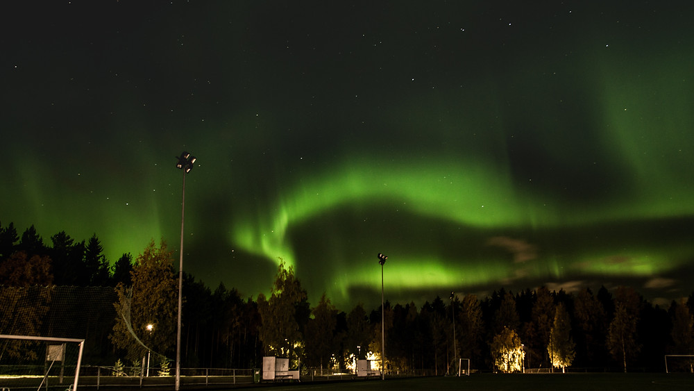Aurora is a natural light display in the Earth's sky.