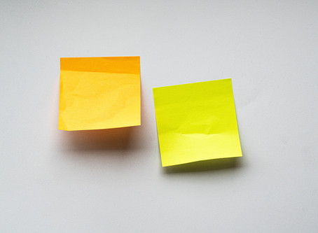 Stay on Track with Sticky Notes