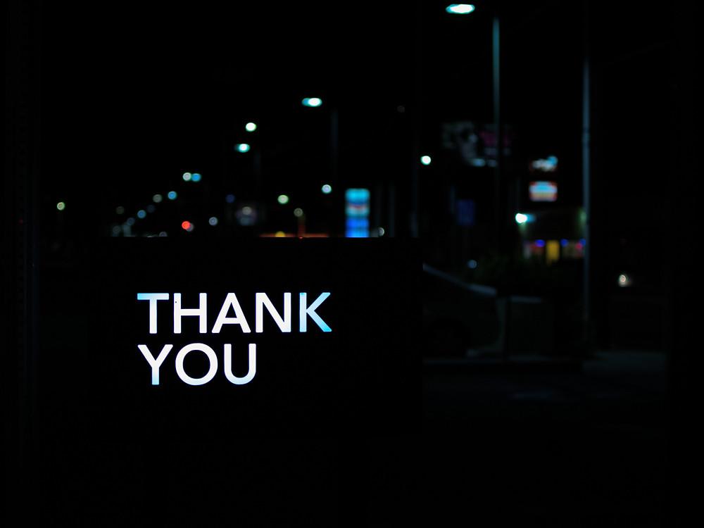 กล่าวขอบคุณอีกครั้งก่อนจบ Email ภาษาอังกฤษ