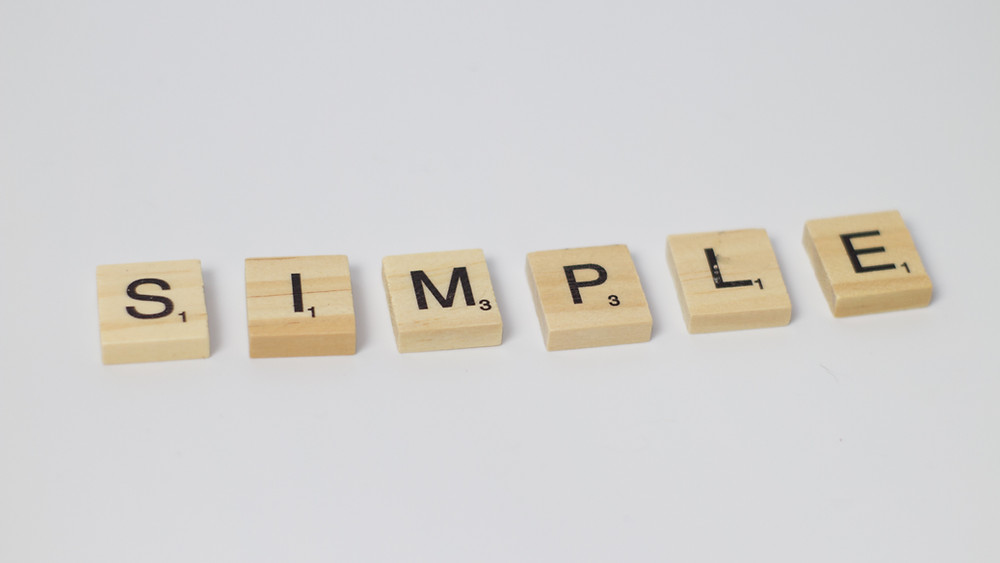 simple, easy, easy to do, ease, simply, simplicity