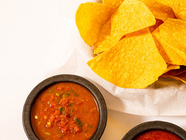 Recipe: Roasted Tomatillo & Lovage Salsa