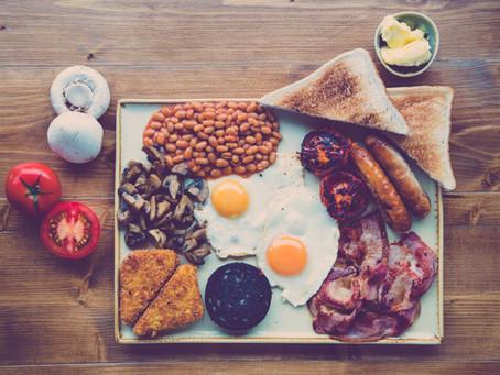 Golf und das Frühstück