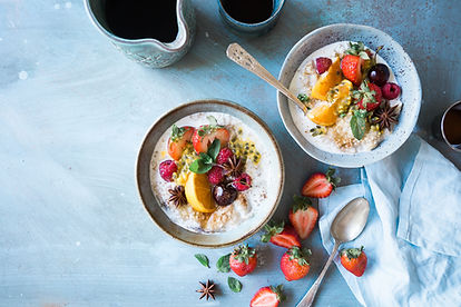 Nutrition from a health coach