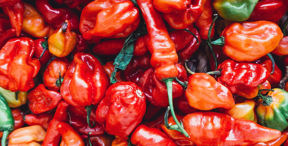Hot Peppers- 4-pack