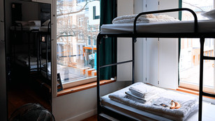 What are student dormitories like in Tokyo, Japan?