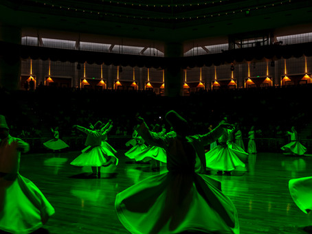 Whirling Dervishes in the Mosh Pit