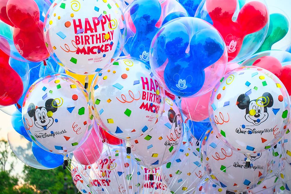 Disney World Park Balloons