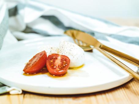 An Easy Weeknight Salad- The Burratta!