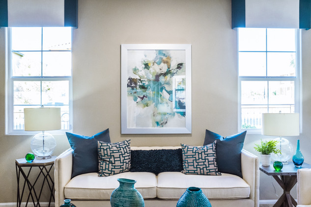 MIX IT UP! Architectural elements, art and color.