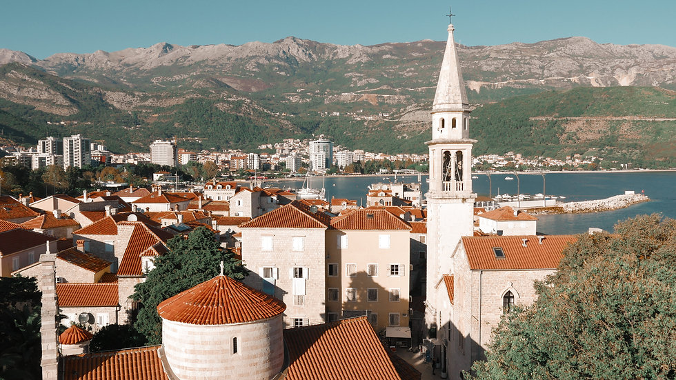 One day itinerary for Budva, Montenegro