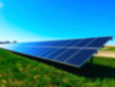 Picture of Solar panels to represent the business solar solutions that Greenest Energy SW provide their customers.