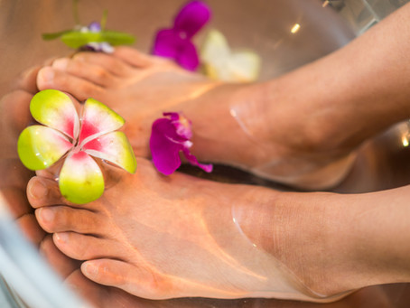 Find Out Why Epsom Salt Foot Soaks Are So Good For You