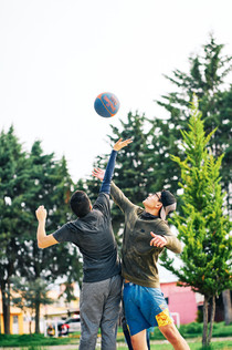 Basket Ball Area 3 on 3