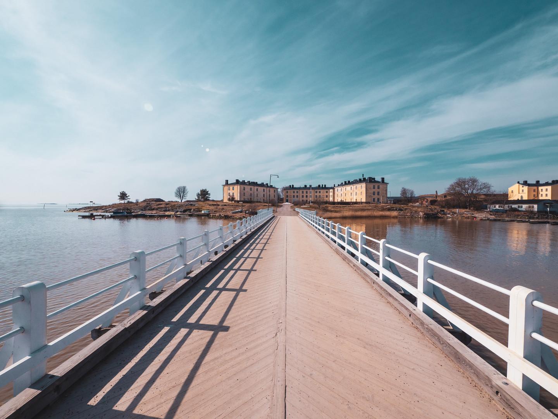 Helsinki boardwalk