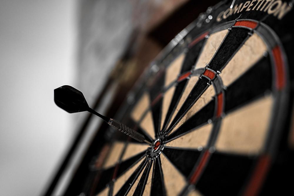 """On target"" writing hits the bullseye every time."