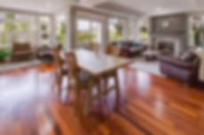 Wooden Floor Dining Room