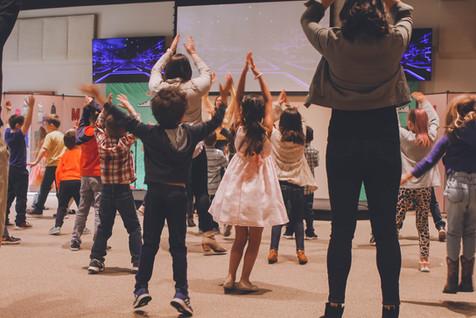 We teach your kids about Jesus in fun interactive ways.