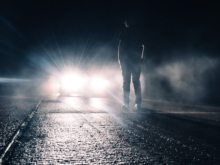 Headlights At Night