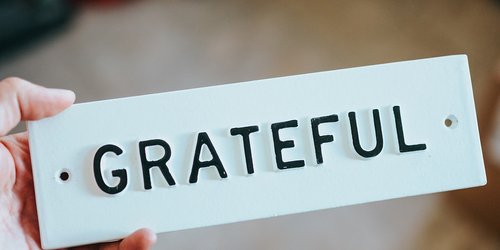 LOVO Gratitude Reflection Group