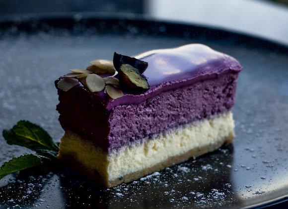 Waldheidelbeer-Vanillesahne-Torte