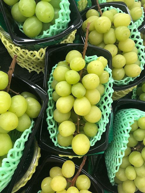 Grapes, green - punnet