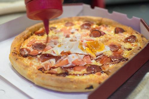 Pizza dăm bông
