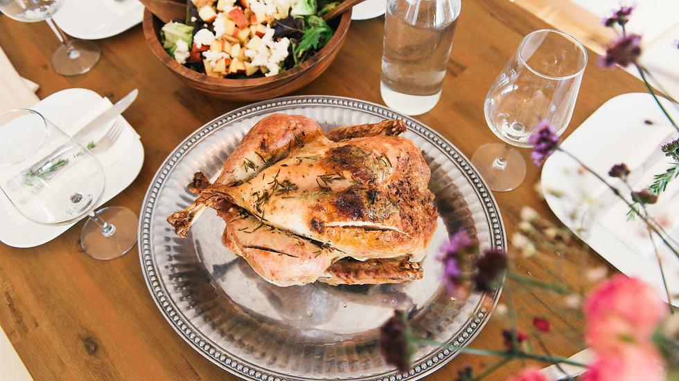 Whole Roaster Chicken 4 - 6 lbs : Pre-Order Deposit