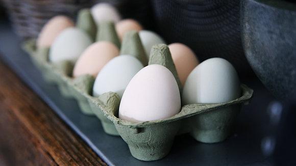 Free Range Eggs - 12